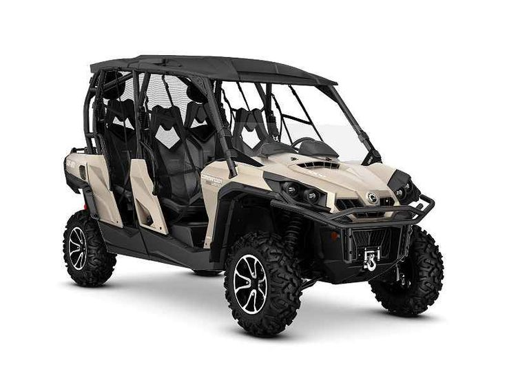 New 2016 Can-Am Commander Max Limited 1000 ATVs For Sale in Georgia. 2016 Can-Am Commander Max Limited 1000, 2016 Can-Am® Commander Max Limited 1000 No other side-by-side vehicle offers such a luxurious ride, with performance shocks and four-speaker sound system. Equipped with Tri-Mode Dynamic Power Steering (DPS), Visco-Lok QE auto-locking front differential, and Rotax® power, this ride proves you don t have to choose between luxury and performance. Features May Include: CATEGORY-LEADING…