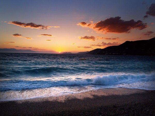 It's twilight time in Loutraki! #Magical #Sunset #Twilight #Loutraki #Greece