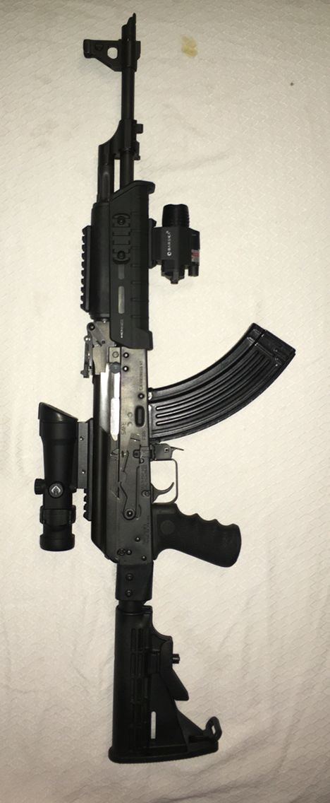 Ak 47 Custom Build By RogerDel Customs