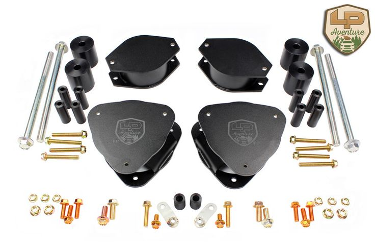 Improve the look and the ground clearance of your 2015-2016 Subaru Outback with the LP Aventure lift kit. The lift kit is designed and assembled in our workshop by our production team that has over 20 years of experience in off-road ADVANTAGES: Manufactured in stainless steel.The top plate spacers are designed with 304 stainless steel and they are TIG welded. They are tough, durable and resistant to corrosion. Offset design.The offset design keeps the original camber specifications to...