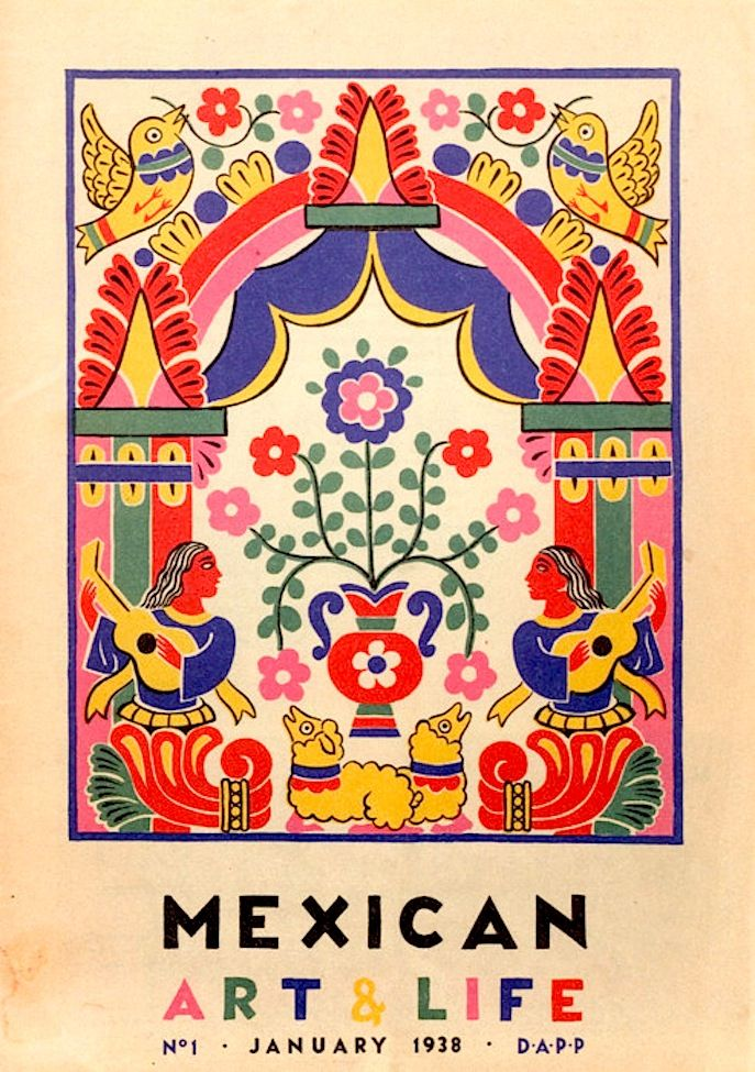 Mexican Art & Life - v cool vintage Mexican book cover
