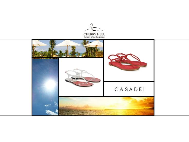 Ready for sunny days? Gorgeous flat sandals from #Casadei is the #musthave whether you are going on vacations to the beach or just plan to go for a walk with your friends in the city. Shop these styles in #CherryHeel #Barcelona! #shoppingbarcelona #shoponline #musthaves #justforyou #bestshop #bestshoes #calzadoexclusivo #compraonline #iloveshoes #verano #lujo