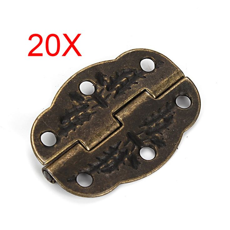 Hot-sale Vintage Bronze Engraved Designs Hinges Cabinet Drawer Jewelry Box Pack 20pcs #>=#>=#>=#>=#> Click on the pin to check out discount price, color, size, shipping, etc. Save and like it!