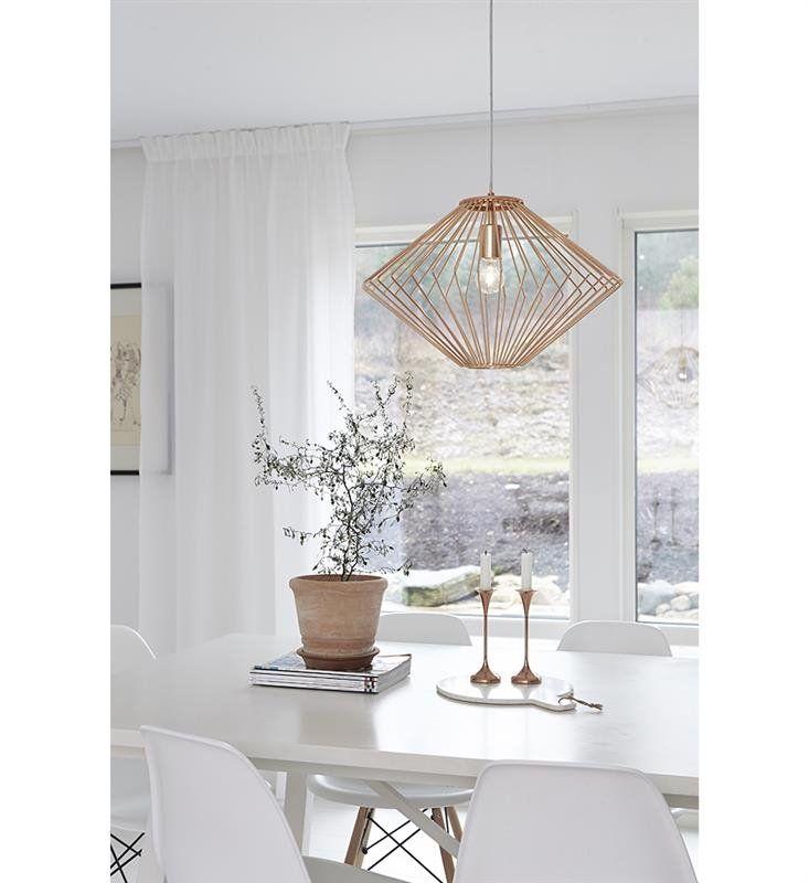 Markslojd Lampa Wisząca Edge 105945 : Lampy wiszące metalowe : Sklep internetowy Elektromag Lighting #copper #lamp