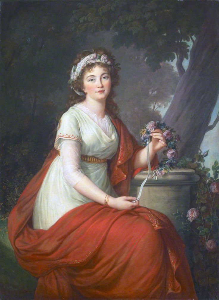 Princess Tatiana Vassilievna Youssoupov, née Engelhardt, Potemkin (first marriage) 1797, oil on canvas, 141 x 104 cm, signed and dated, Tokyo Fuji Art Museum