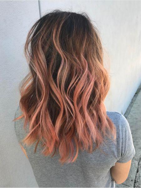 Sombre Blorange Hair
