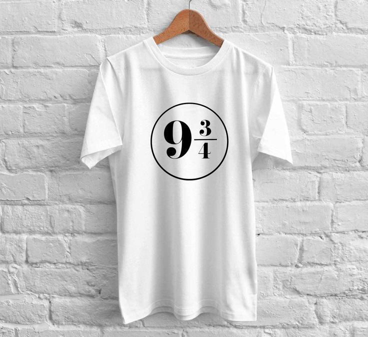 Harry Potter Platform 9 3/4 Shirt 5SOS Tshirt Custom Gift Cotton Shirt