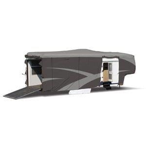 Adco 52273 Designer Series SFS Aqua Shed Toy Hauler RV Cover - gray pattern