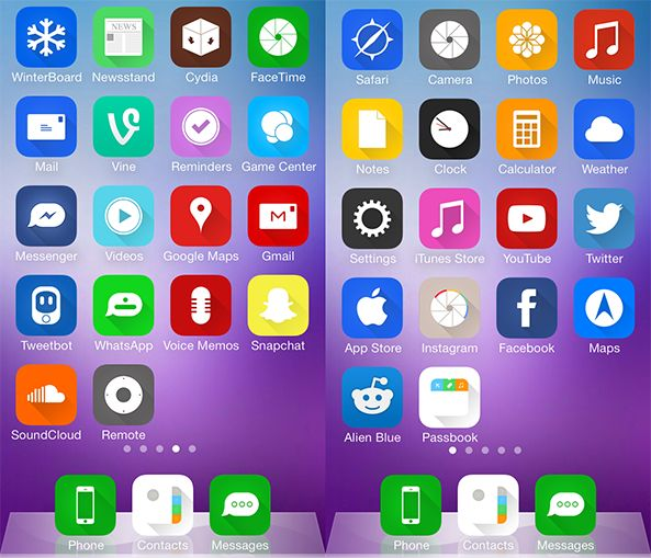 i7Cons tema iphone