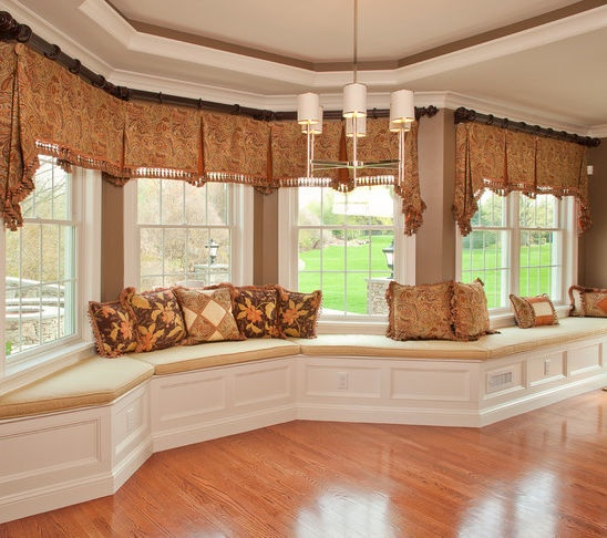 Small Living Room Window Treatments: 50 Best Bay Window Treatments Images On Pinterest