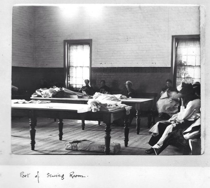 Part of the Sewing Room - Ararat Lunatic Asylum/Aradale Mental Hospital