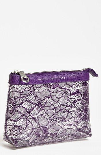 MARC BY MARC JACOBS 'Lace Landscape' Cosmetics Case available at #Nordstrom
