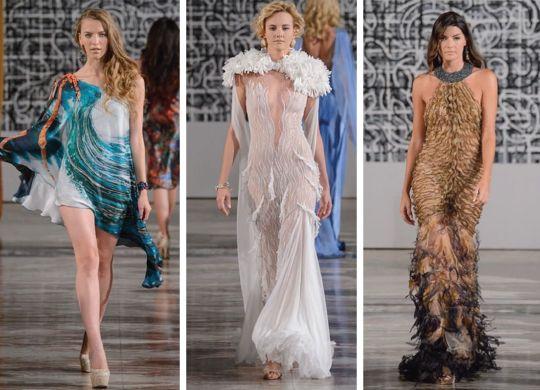 SA Fashion Designer Hendrik Vermeulen At New York Fashion Week ...