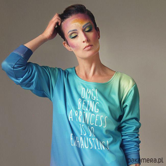 bluzy-Being a princess Bluza