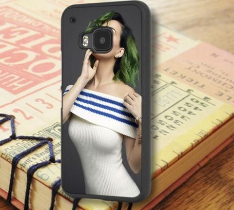 Katty Perry Green Hair HTC One M9 Case