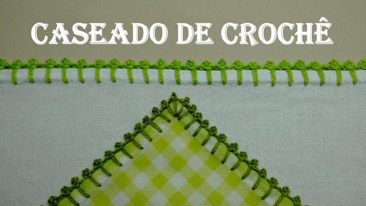 Caseado de Crochê com Picô # Wilma Crochê