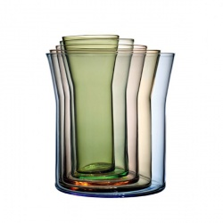 Spectra 5 Vase Set Holmegaard $190: Ceramic, Accessories, Products, Spectra Vases, Design