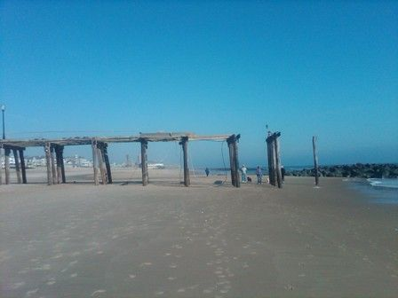 Sustained 70 mph winds, ocean surges, and O.G. Fishing Pier is no longer.