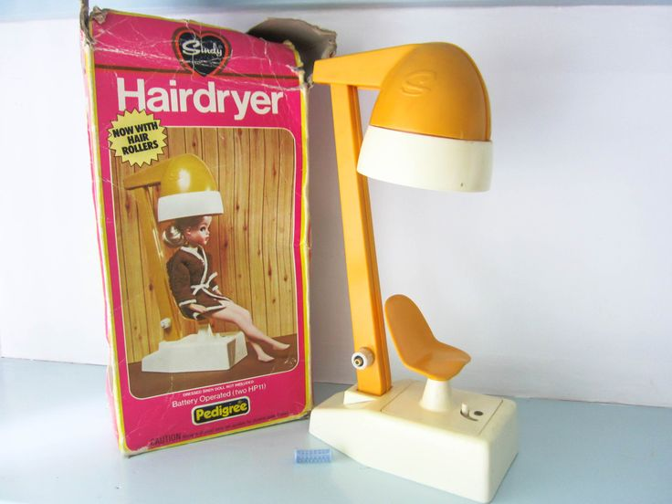 Sindy Hairdryer, vintage sindy, vintage 1970s toys, retro toys, dolls house furniture, Sindy by pedigree, Boxed toy, Sindy Hooded hairdryer by thevintagemagpie01 on Etsy