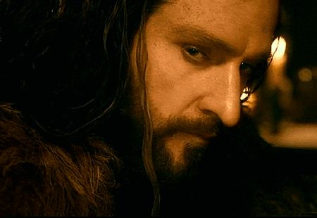 Not that kind of hot, swayer-of-dale:   THORIN OAKENSHIELD THE HOBBIT...