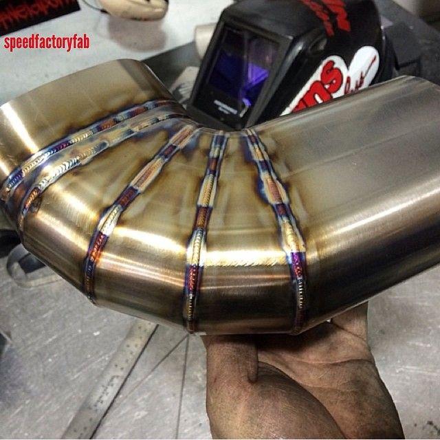 Nice welding.