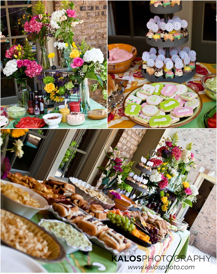 Backyard Party Menu Ideas eclectic houzz holiday contest a pretty backyard dinner party Party A 1st Birthday Backyard Bash Giveaway