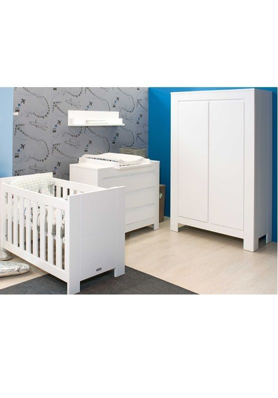 Babykamer Bopita Bianco Commode 3 Laden - BabyMax