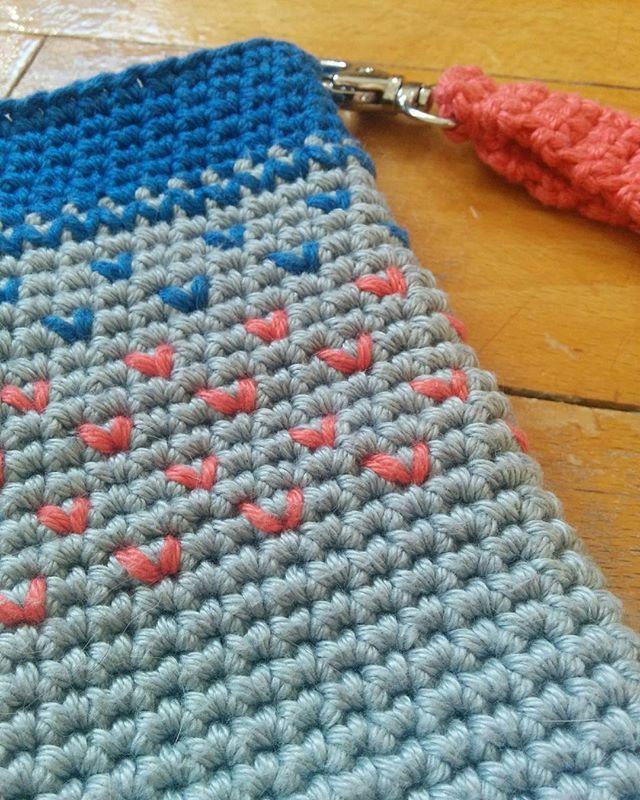 Hotovo! #hackovani #crochet #crochetersofinstagram #phone #case #handmade