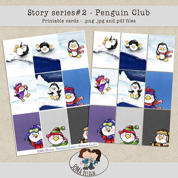 SoMaDesign PenguinClub Cards