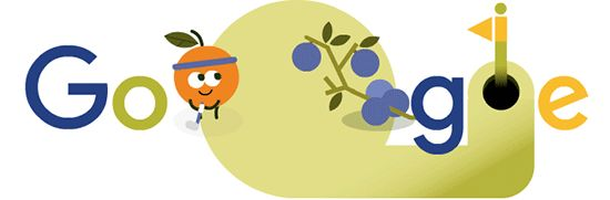 Day 5 of the 2016 Doodle Fruit Games! Find out more at g.co/fruit | Google Doodle 08/09/2016