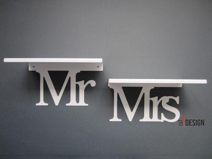Półki dla Niej i dla Niego - Mr Mrs.