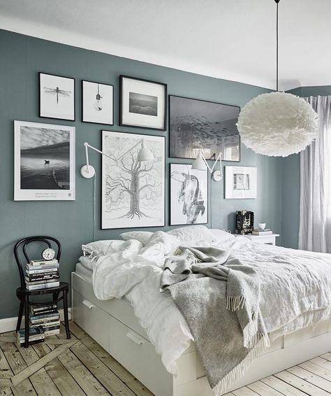 Green grey walls - via cocolapinedesign.com ähnliche tolle Projekte und Ideen wie im Bild vorgestellt findest du auch in unserem Magazin . Wir freuen uns auf deinen Besuch. Liebe Grüß