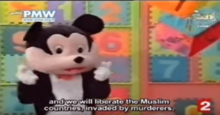 """France 2 Report on Hamas Mickey Mouse David Pujadas: """"Good evening, and welcome all, here are the news headlines of today, Monday. In... #Hamas #PA #US - http://www.factualisrael.com/france-2-report-on-hamas-mickey-mouse/"""