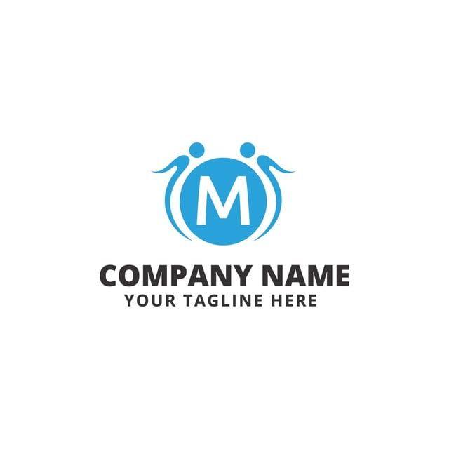 مانكي شعار اللياقة البدنية Fitness Logo Letter Logo Vector Logo Design