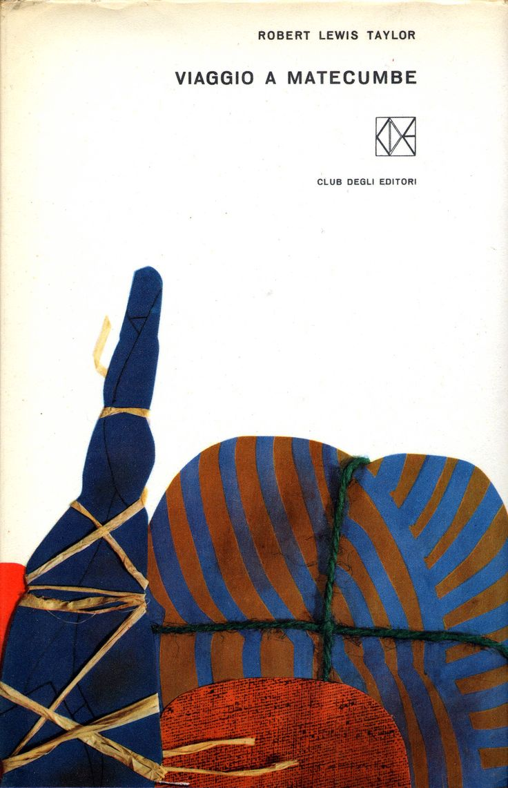 "Bruno Munari – Robert Lewis Taylor ""Viaggio a Matecumbe,"" Club degli Editori, 1962"