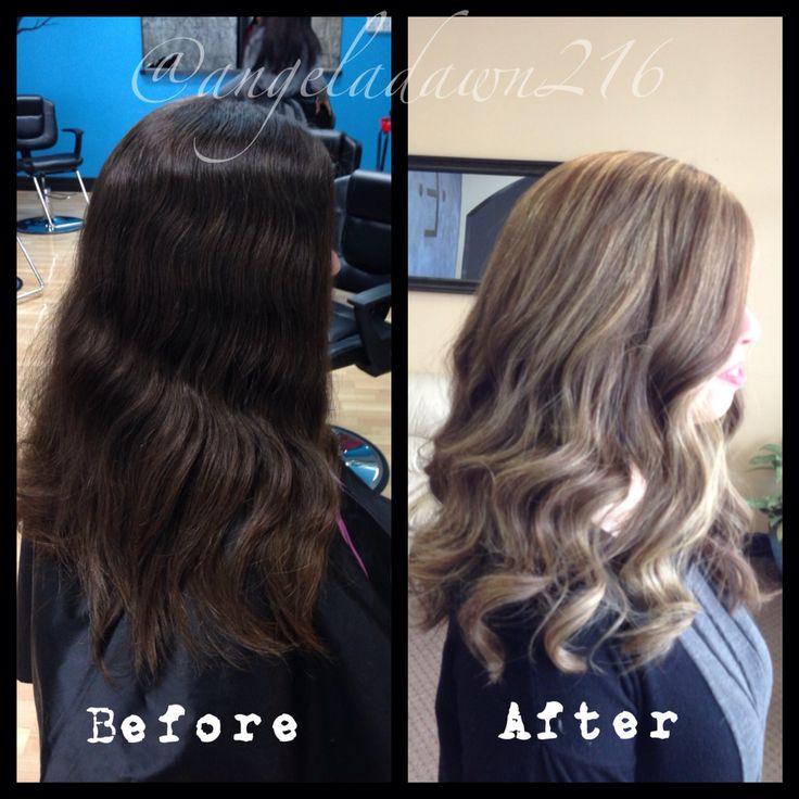From Virgin Dark Brown To Victoria Secret Hair We Did A
