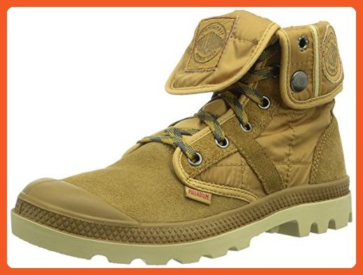 Palladium Us Baggy - Botas de Canvas para Hombre Marrón Marron (Woodlin/Honey Mustard) 42 59oIr1mPyi