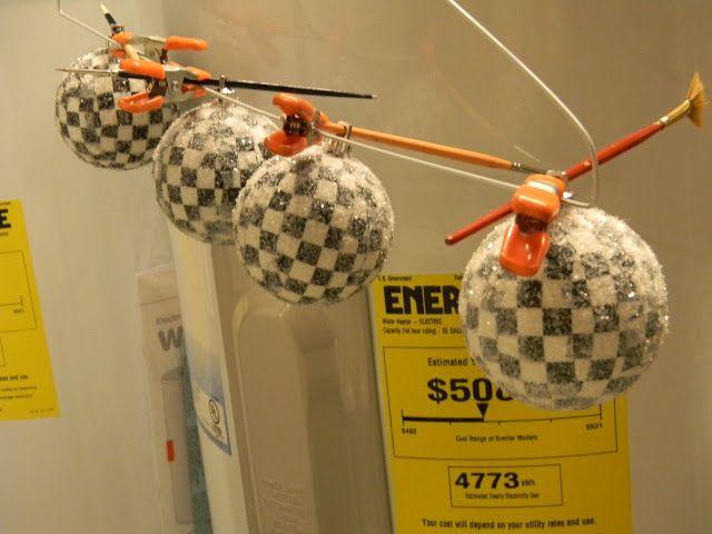 Forever Decorating!: MacKenzie Childs Inspiration Ornament Tutorial