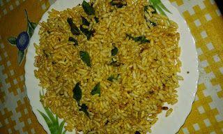 Sabi's Taste: Masala puffed rice(pori masala) Puffed rice- 1/2 p...
