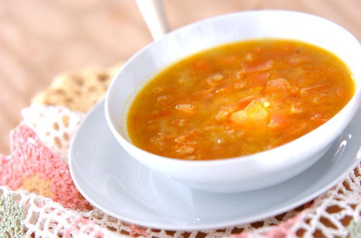 スパイシートマトスープのレシピ・作り方 - 簡単プロの料理レシピ   E・レシピ