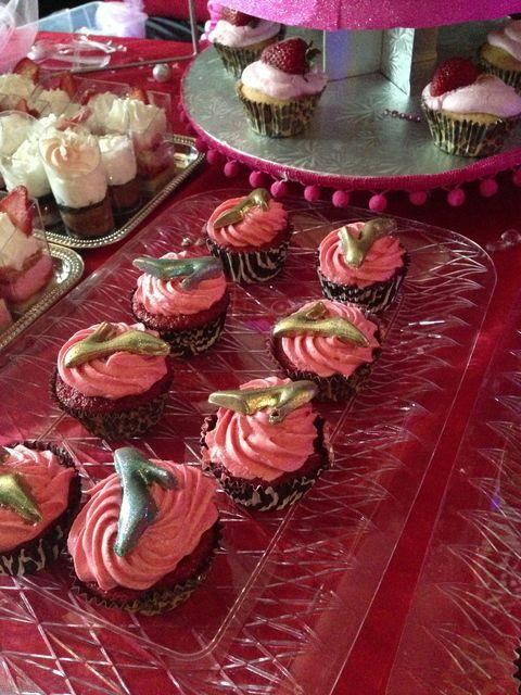 valentine's day diva cupcake