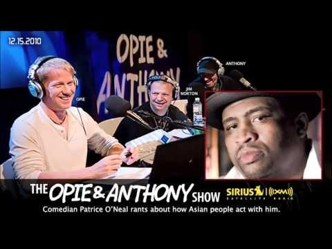 Patrice rant about Asian People on Opie and Anthony(2010)