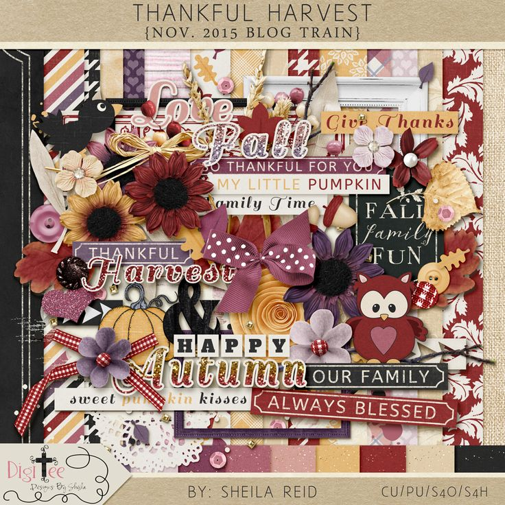Monday's Guest Freebies ~ Digi Tee Designs By Sheila ✿ Follow the Free Digital Scrapbook board for daily freebies: https://www.pinterest.com/sherylcsjohnson/free-digital-scrapbook/ ✿ Visit GrannyEnchanted.Com for thousands of digital scrapbook freebies. ✿