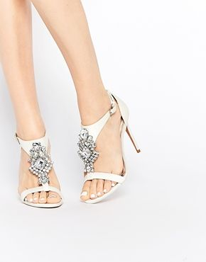 Ted Baker Tie The Knot Naiss Jewelled Heeled Sandals