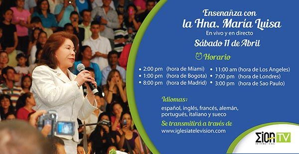 Enseñanza – Hna. María Luisa – 11 Abril 2015