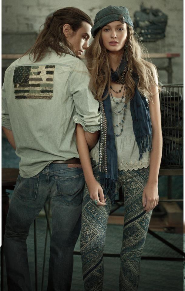 Ralph Lauren - Ralph Lauren Denim & Supply S/S 13 campaign and Lookbook with
