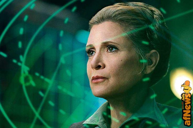 No, niente principessa Leia in Star Wars 9... - http://www.afnews.info/wordpress/2017/04/15/no-niente-principessa-leia-in-star-wars-9/