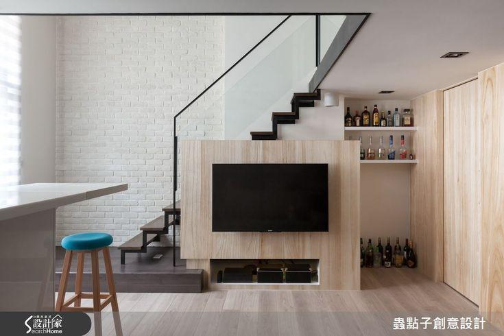 好想住這裡  12坪夾層空間的無隔閡輕透感 | 設計家 Searchome