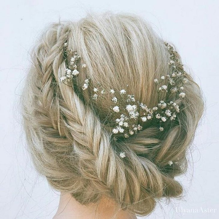 Chignon braids - Cute hairstyles for long hair #hairstyle #hair #promhair #weddinghair #hairstyles