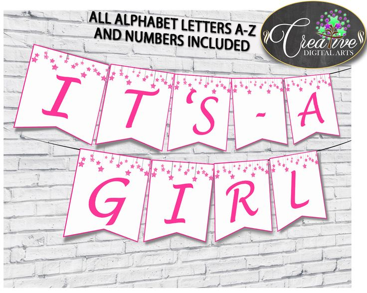 Best Baby Shower Girl Twinkle Little Star Pink Glitter Games